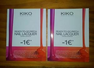 Descuentos para uñas en Kiko